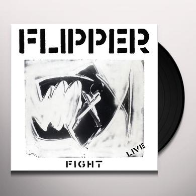 Flipper FIGHT: LIVE Vinyl Record - 180 Gram Pressing