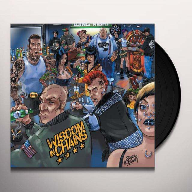 WISDOM IN CHAINS Vinyl Record - Limited Edition