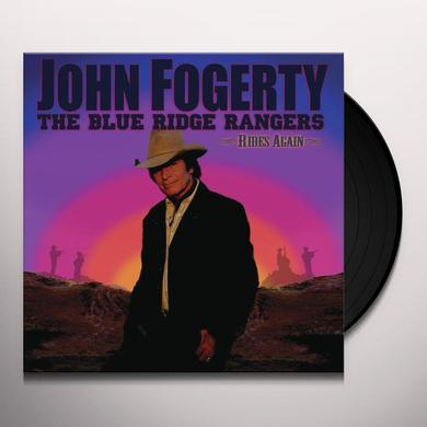 John Fogerty BLUE RIDGE RANGERS RIDES AGAIN Vinyl Record