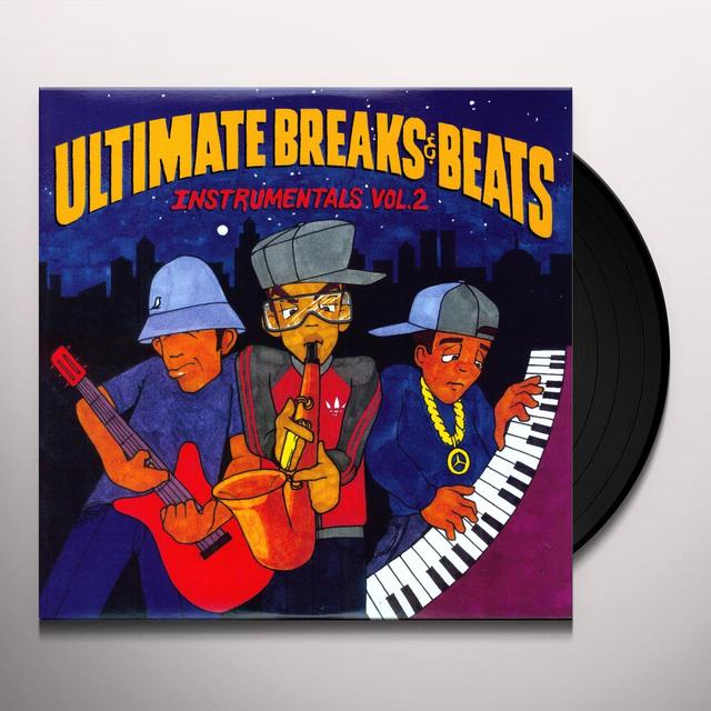 ULTIMATE BREAKS & BEATS: INSTRUMENTALS 2 / VARIOUS Vinyl Record