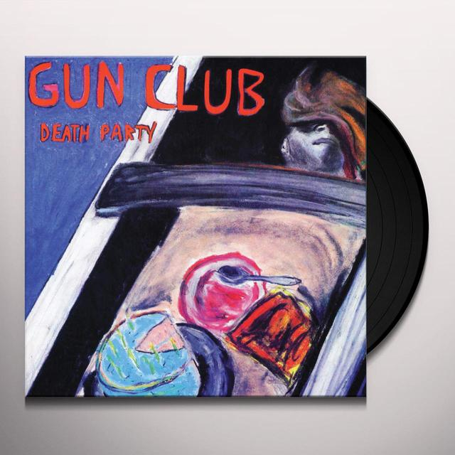 The Gun Club DEATH PARTY Vinyl Record
