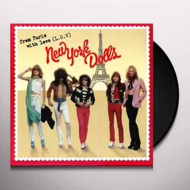 New York Dolls FROM PARIS WITH LUV Vinyl Record