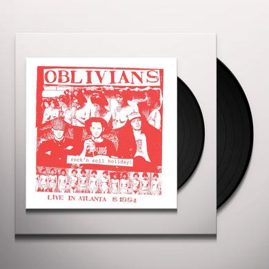 Oblivians ROCK N ROLL HOLIDAY: LIVE IN ATLANTA Vinyl Record