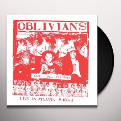 Oblivians ROCK N ROLL HOLIDAY: LIVE IN ATLANTA Vinyl Record