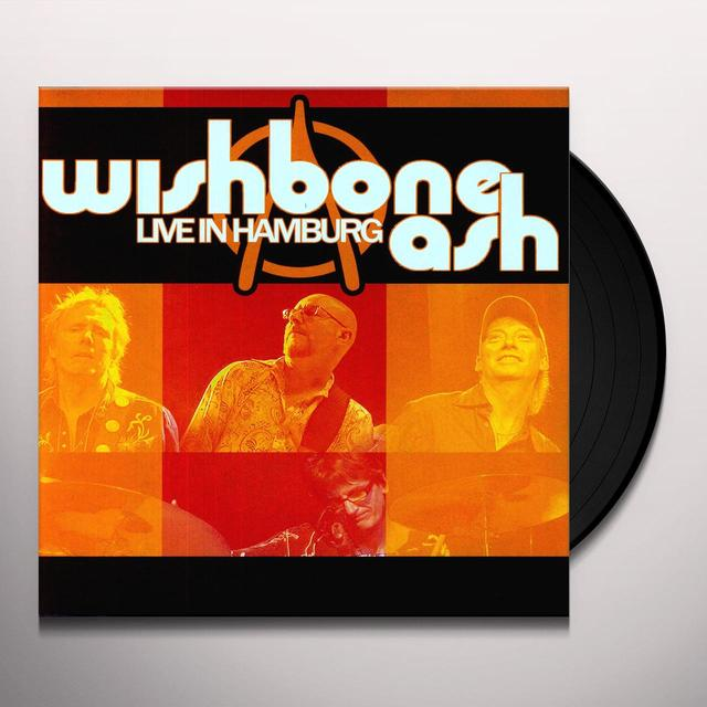 Wishbone Ash LIVE IN HAMBURG Vinyl Record - Reissue