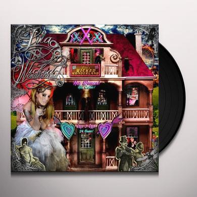 Lita Ford WICKED WONDERLAND (BONUS TRACKS) Vinyl Record