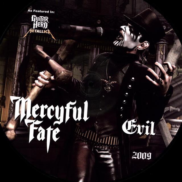 Mercyful Fate EVIL / CURSE OF THE PHAROAHS Vinyl Record