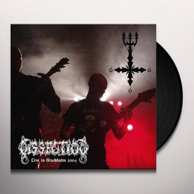 Dissection LIVE IN STOCKHOLM 2004 Vinyl Record