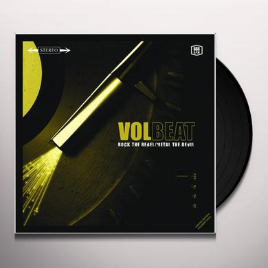 Volbeat ROCK THE REBEL / METAL THE DEVIL Vinyl Record - Limited Edition