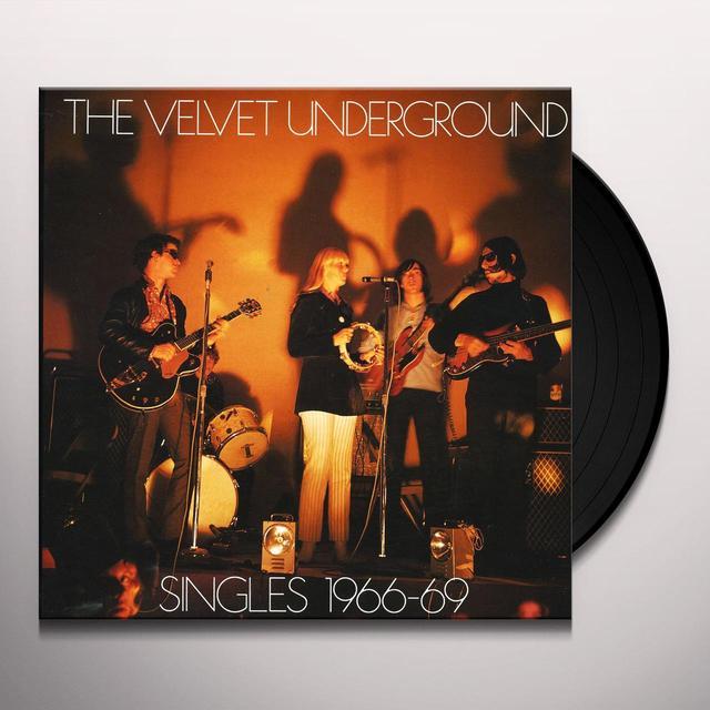 Velvet Underground SINGLES 1966-69 Vinyl Record