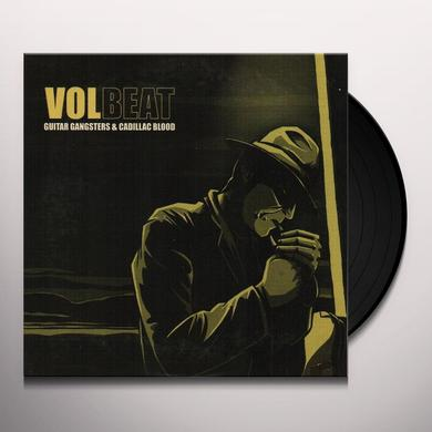 Volbeat GUITAR GANGSTERS & CADILLAC BLOOD Vinyl Record - Limited Edition