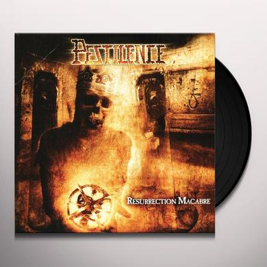 Pestilence RESURRECTION MACABRE Vinyl Record