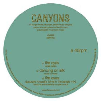 Canyons FIRE EYES Vinyl Record