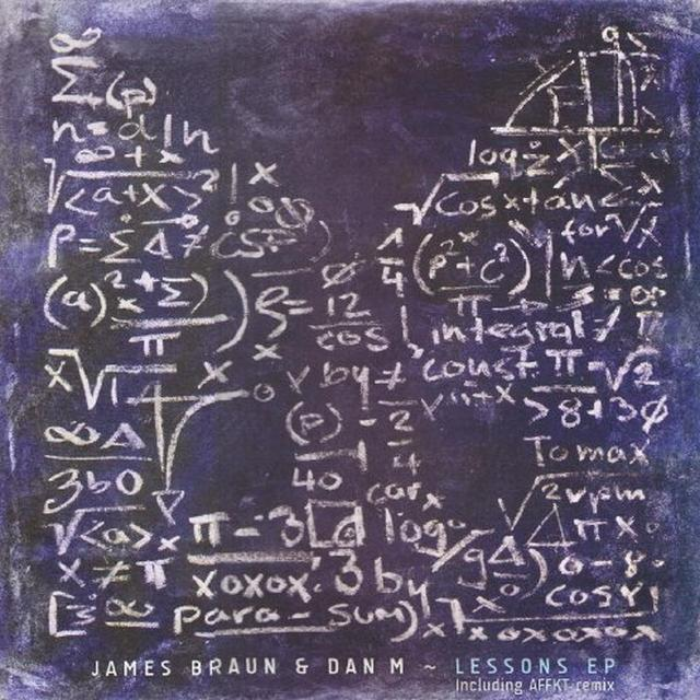 James Braun & Dam M LESSONS (EP) Vinyl Record