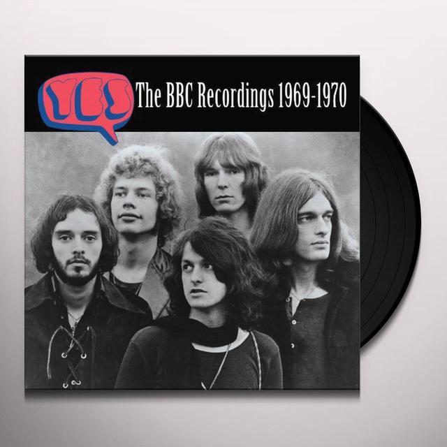 Yes BBC RECORDING 1969-1970 Vinyl Record