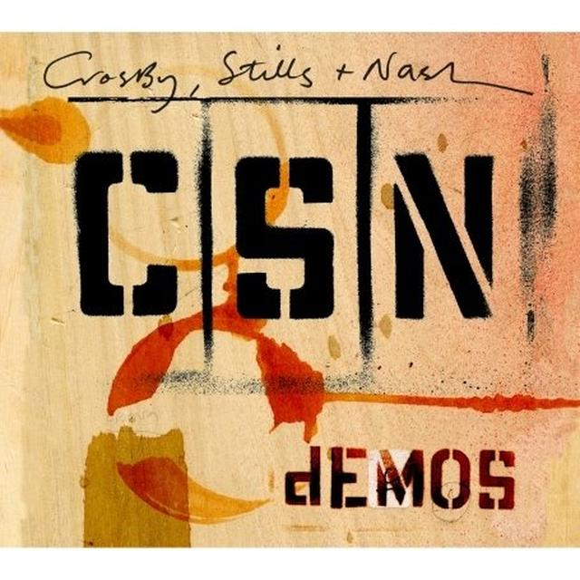 Crosby Stills & Nash DEMOS Vinyl Record