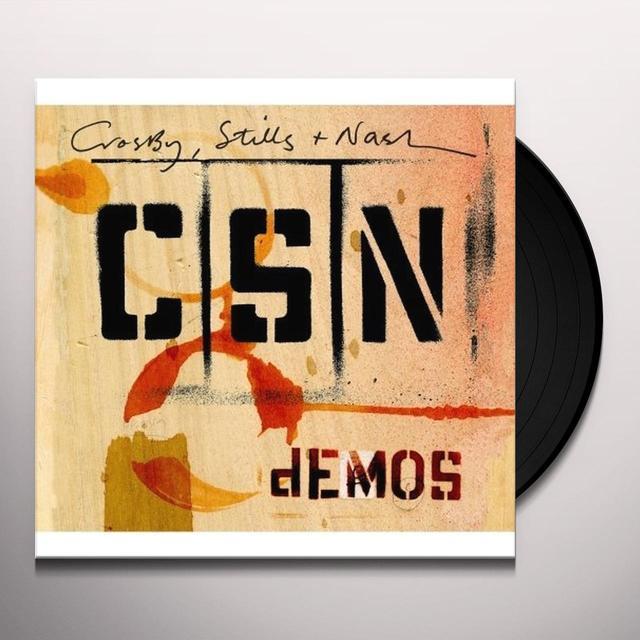 Crosby Stills & Nash DEMOS Vinyl Record - 180 Gram Pressing
