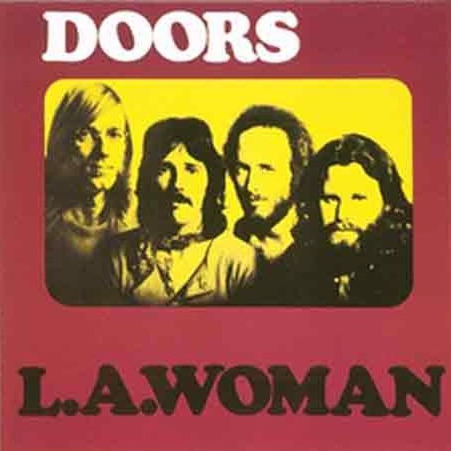 The Doors LA WOMAN Vinyl Record