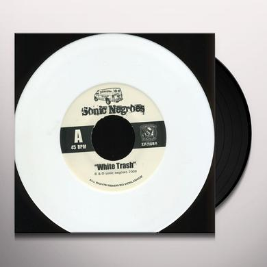 Sonic Negroes WHITE TRASH TOUR SINGLE Vinyl Record