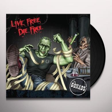 Gonads LIVE FREE DIE FREE Vinyl Record