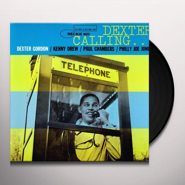 Dexter Gordon DEXTER CALLING Vinyl Record - 200 Gram Edition