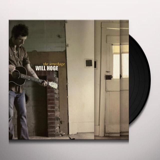 Will Hoge WRECKAGE Vinyl Record - Digital Download Included, 180 Gram Pressing