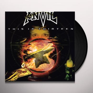 Anvil THIS IS THIRTEEN (BONUS TRACKS) Vinyl Record