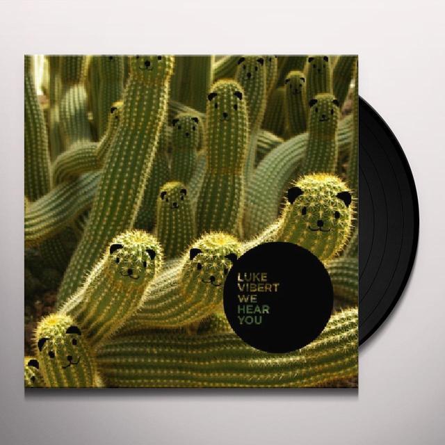 Luke Vibert WE HEAR YOU Vinyl Record