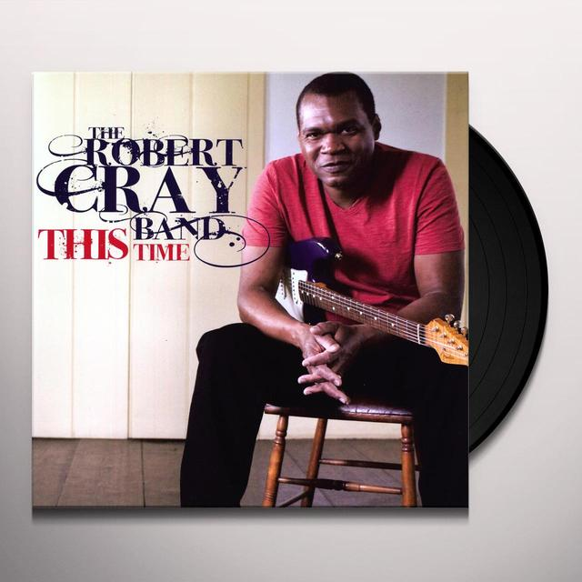 Robert Cray THIS TIME Vinyl Record