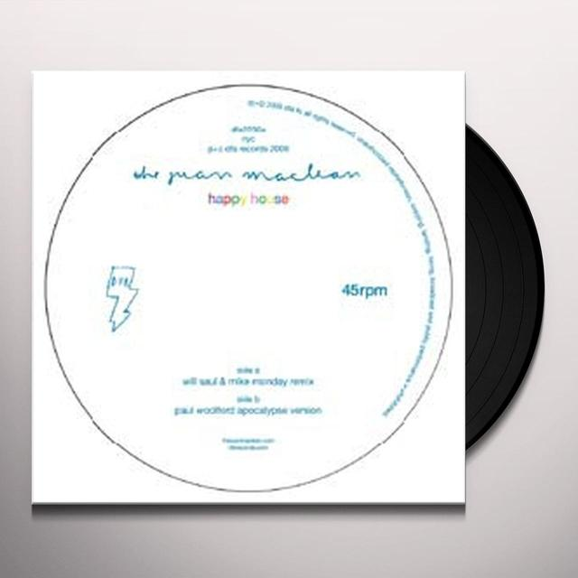 Juan Maclean HAPPY HOUSE (LAZARO CASANOVE REMIX) Vinyl Record