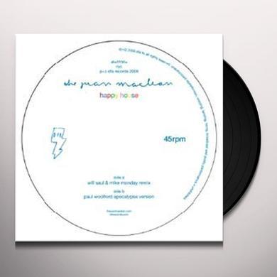 Juan Maclean HAPPY HOUSE (LAZARO CASANOVE REMIX) Vinyl Record