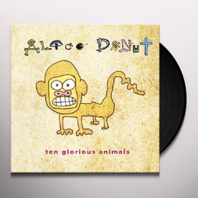 Alice Donut TEN GLORIOUS ANIMALS Vinyl Record