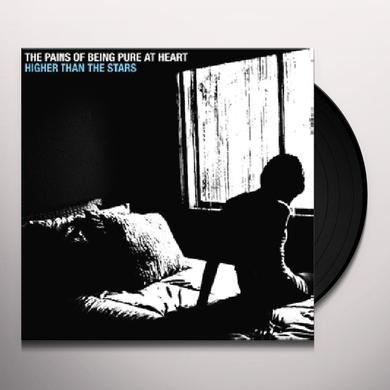 The Pains Of Being Pure At Heart HIGHER THAN THE STARS Vinyl Record