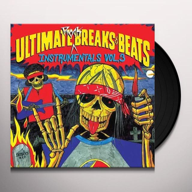 ULTIMATE BREAKS & BEATS: INSTRUMENTALS 3 / VARIOUS Vinyl Record