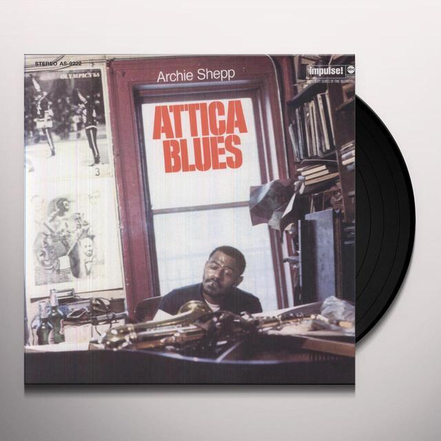 Archie Shepp ATTICA BLUES Vinyl Record