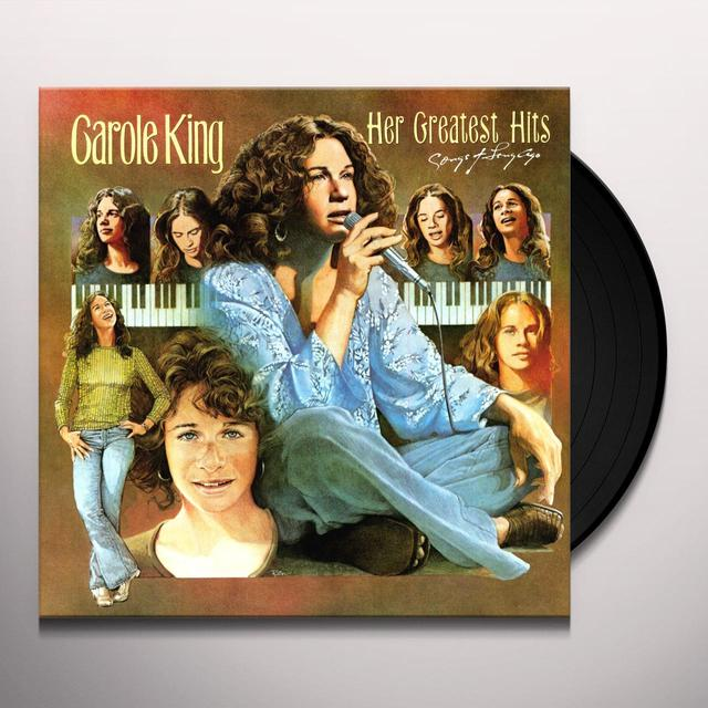 Carole King HER GREATEST HITS Vinyl Record - 180 Gram Pressing