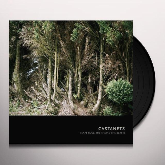 Castanets TEXAS ROSE: THE THAW & THE BEAST Vinyl Record