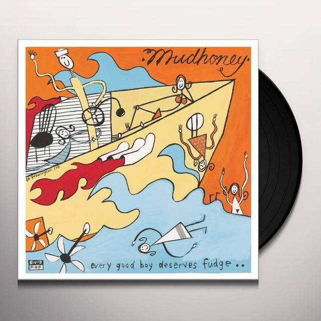 Mudhoney EVERY GOOD BOY DESERVES FUDGE Vinyl Record - Remastered