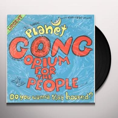 Planet Gong OPIUM FOR THE PEOPLE / POET FOR SALE Vinyl Record