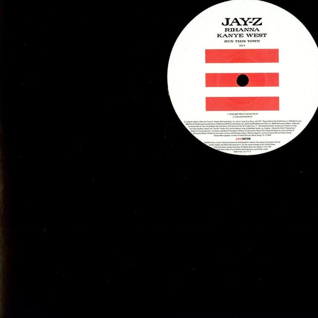 Jay Z RUN THIS TOWN Vinyl Record