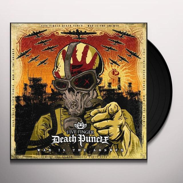 Five Finger Death Punch WAR IS THE ANSWER (BONUS CD) Vinyl Record