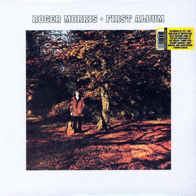 Roger Morris FIRST ALBUM Vinyl Record