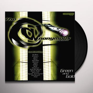 Eminem & Anonymous GREEN & GOLD (EP) Vinyl Record