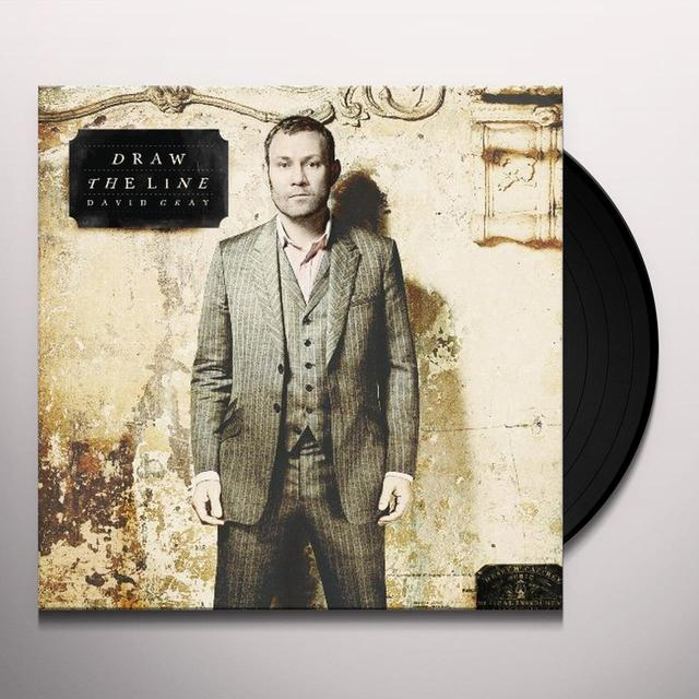 David Gray DRAW THE LINE Vinyl Record