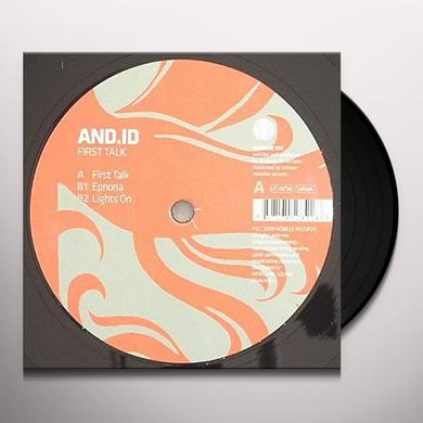 And.Id FIRST TALK Vinyl Record