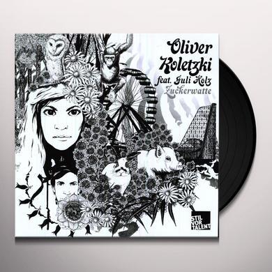Oliver Koletzki ZUCKERWATTE Vinyl Record