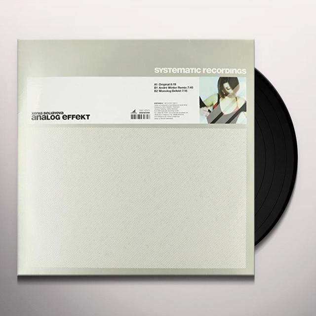 Xenia Beliayeva ANALOG EFFEKT (EP) Vinyl Record