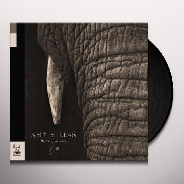 Amy Millan MASTERS OF THE BURIAL Vinyl Record
