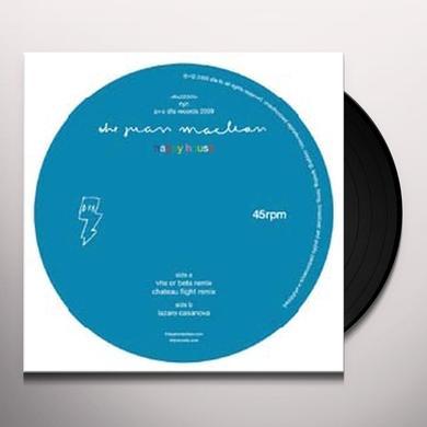 Juan Maclean HAPPY HOUSE (VHS OR BETA REMIX) Vinyl Record