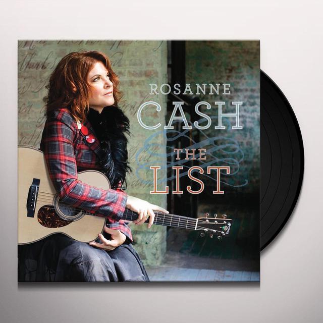 Rosanne Cash LIST Vinyl Record